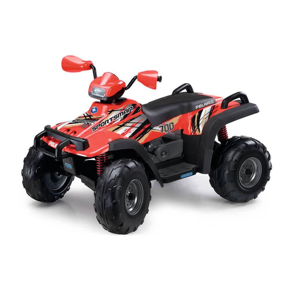 Quadriciclo Elétrico Polaris Sportsman 700 Twin 12v Vermelho - Peg-Pérego