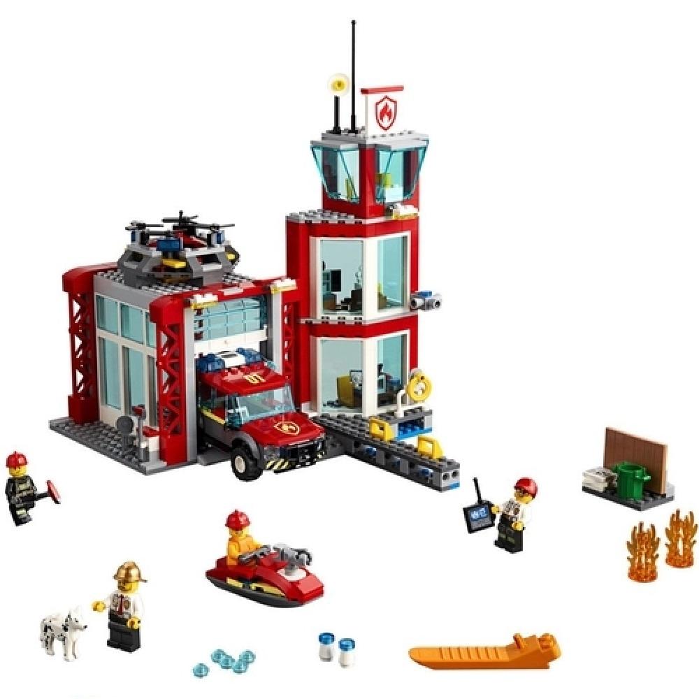 QUARTEL DOS BOMBEIROS - LEGO