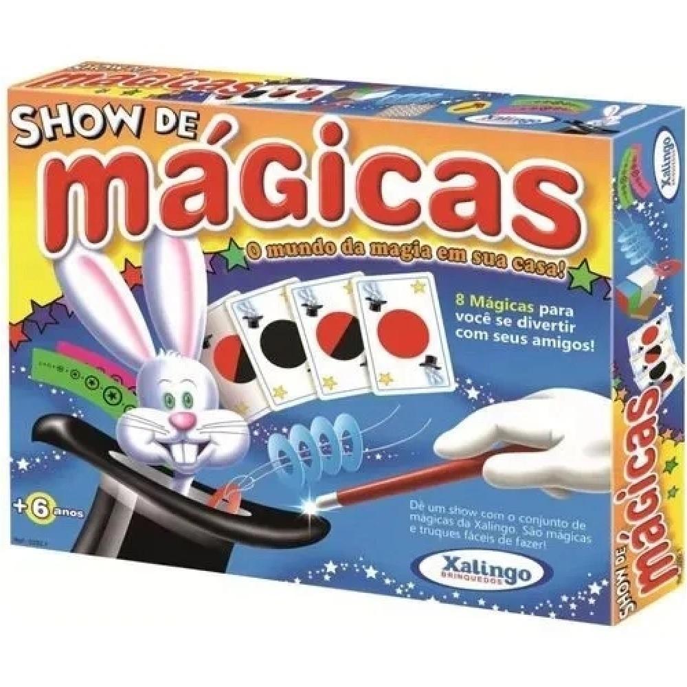 SHOW DE MAGICAS - XALINGO