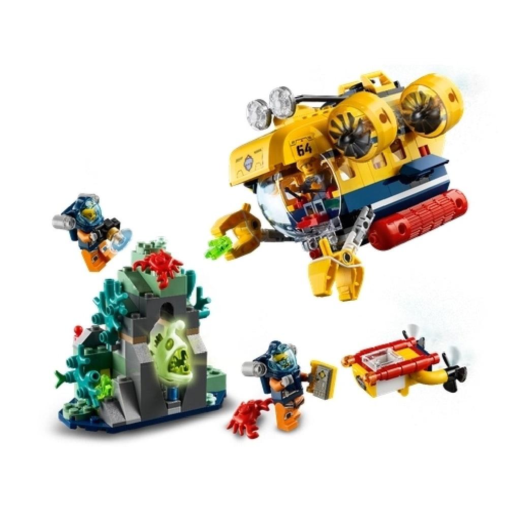 SUBMARINO DE EXPLORAÇÃO DO OCEANO - LEGO