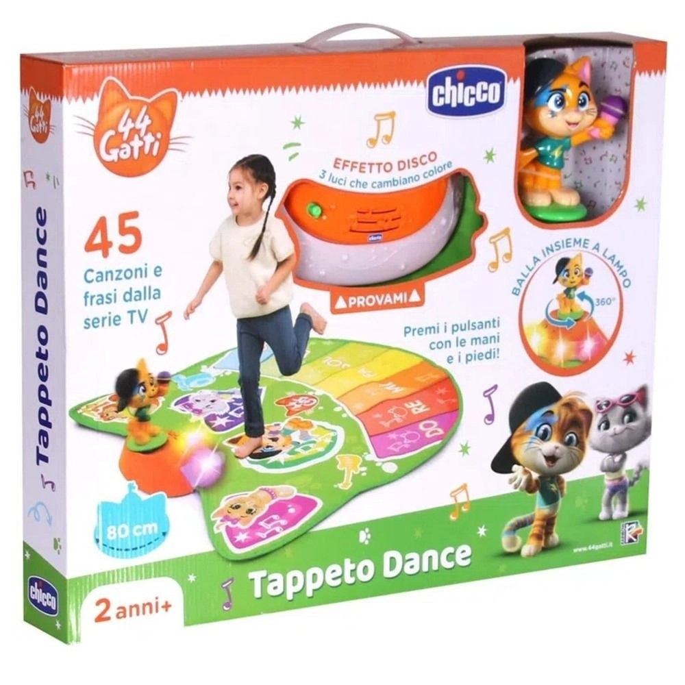 TAPETE DANCE 44 GATOS - CHICCO