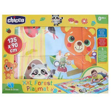 Tapete de Atividades para Bebê Floresta XXL Azul - Chicco