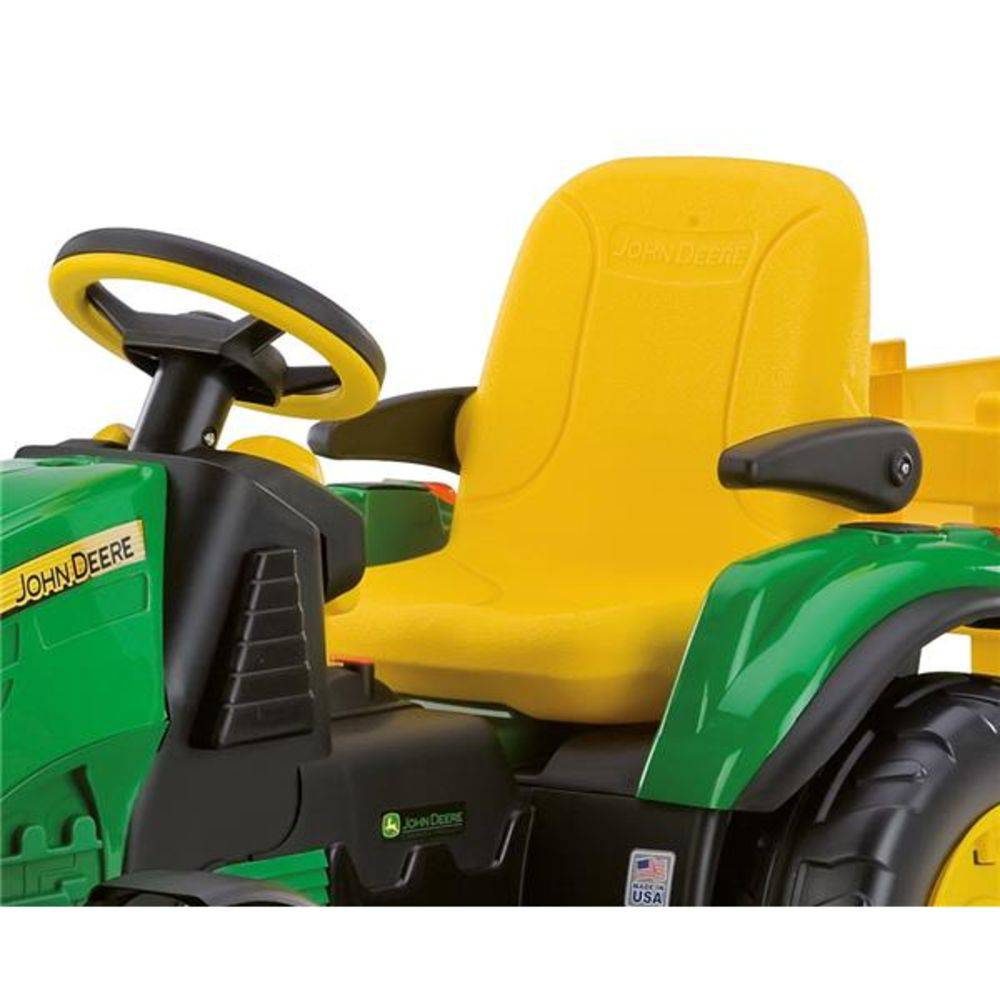 Trator Elétrico John Deere Ground Force 12volts - Peg-Pérego