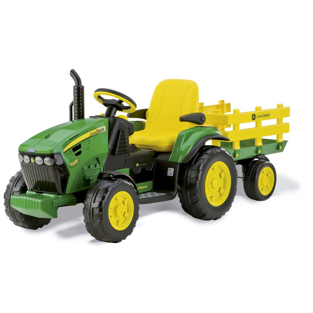 TRATOR JOHN DEERE GROUND FORCE 12V - PEG PEREGO