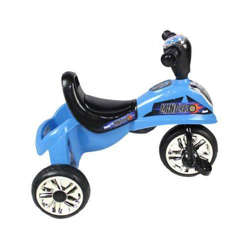 Triciclo Infantil Azul Miniciclo com Luz - Belfix