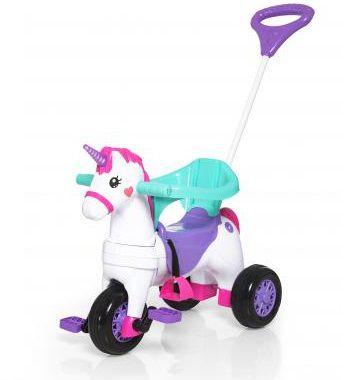 Triciclo Infantil Empurrar Velocita Fantasy - Calesita