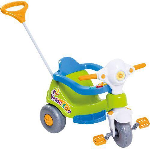 Triciclo Velocita 2 em 1 - Pedal e Passeio - Calesita