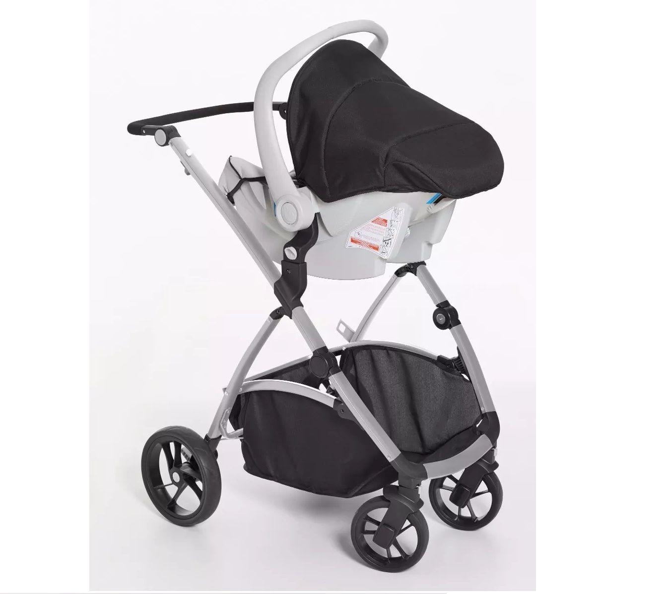 TS Maly + Bebê Conforto Cocoon Preto - Dzieco