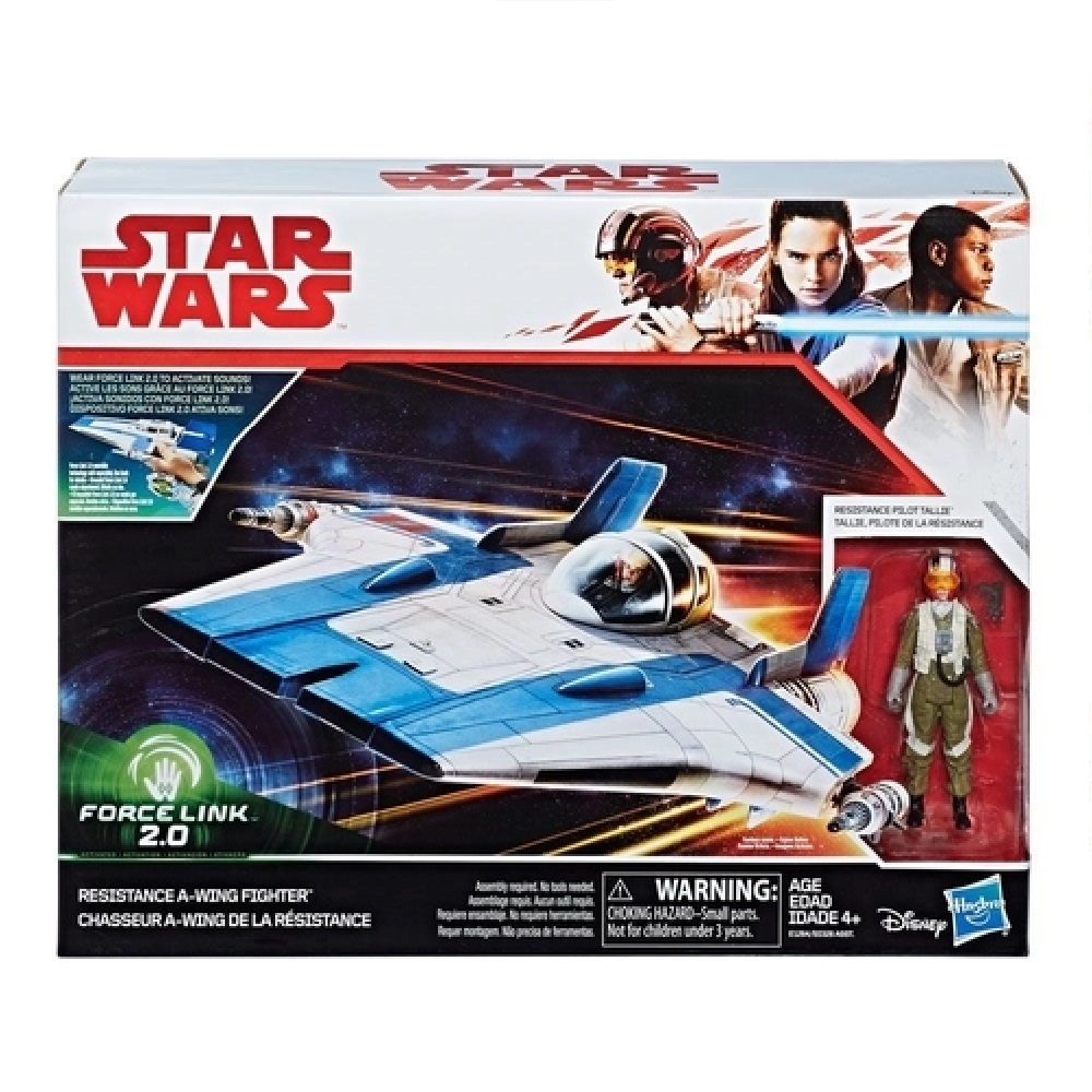 VEICULO RESISTANCE A-WING FIGHTER CLASSE B - EP. 8 (C1248) - HASBRO