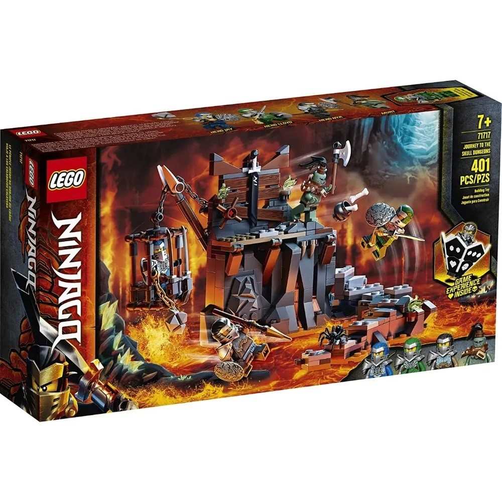 VIAGEM ATE AS MASMORRAS DAS CAVEIRAS (71717) - LEGO