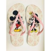Mickey e Minnie arabesco