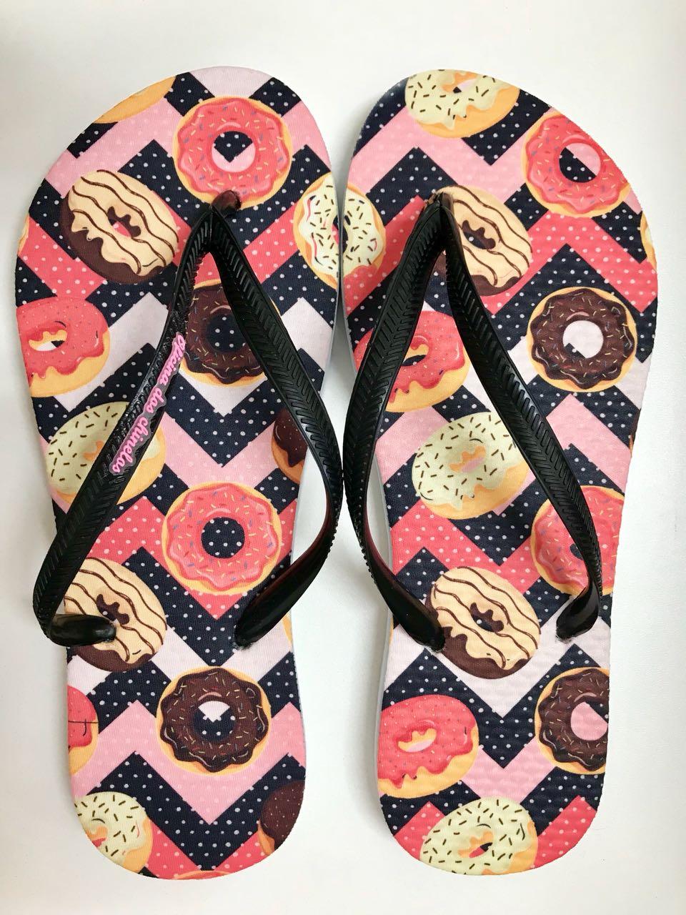 Donuts zigzag