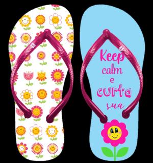 Keep Calm e curta sua flor