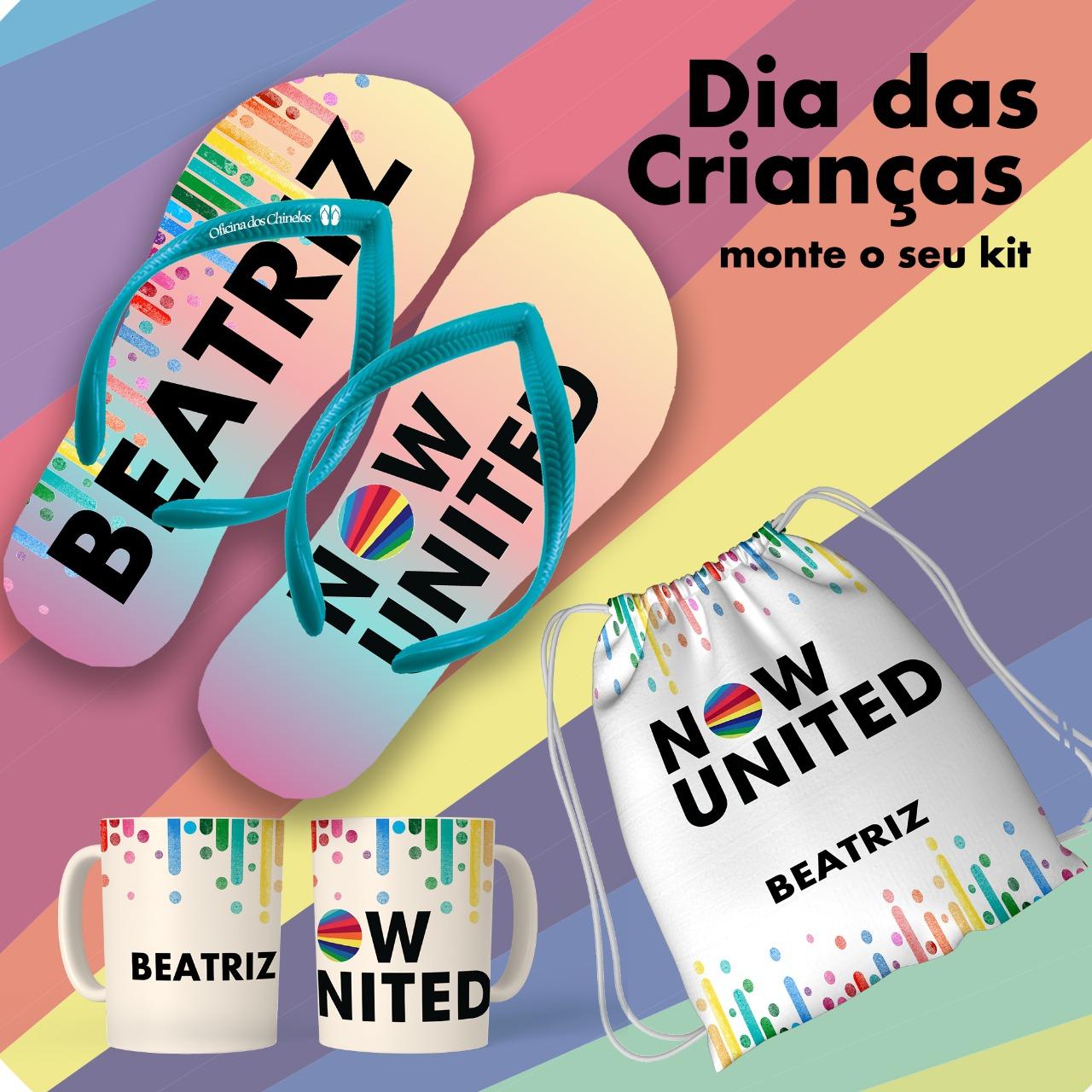 Kit dia das Crianças - Now United