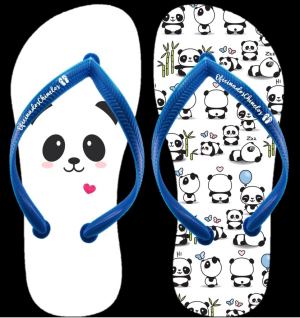 Panda Coração