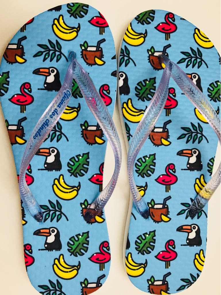 Tucano e bananas