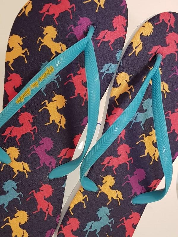 Unicornio - coloridos