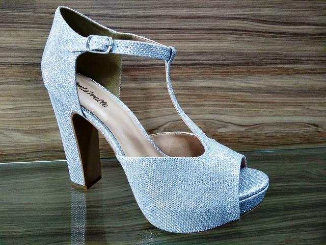 DIVA - Sandália Lumicolor Prata