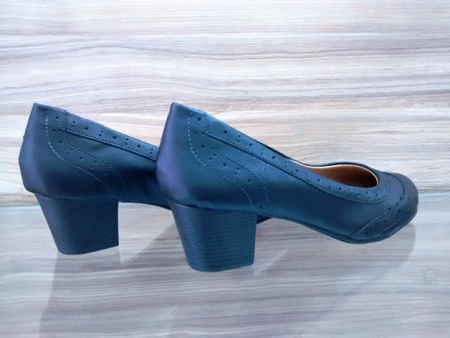 Sapato Napa Preto