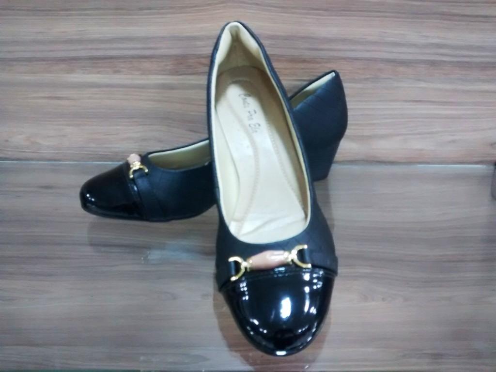 Sapato Verniz Matelassê