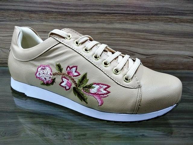Tênis Rosê Floral