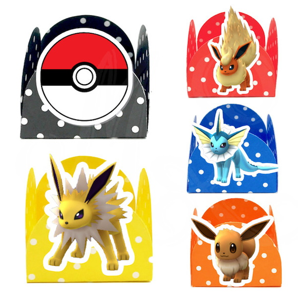 Kit c/ 180 Forminhas - Pokemon Go