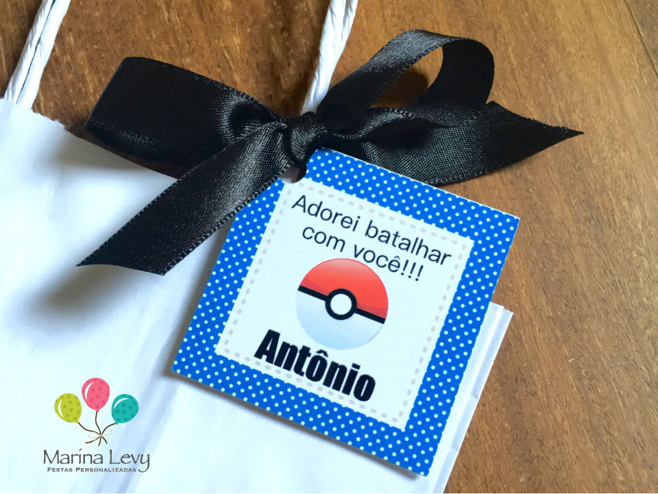 Tag de agradecimento - Pokemon Go