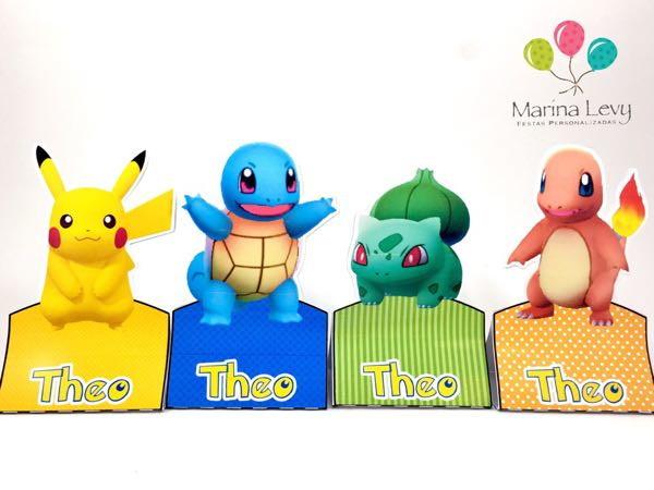 Display para 2 Bis - Pokemon