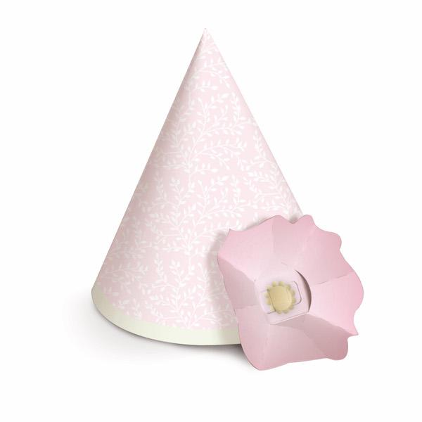 Chapéu com Aplique de Flor - Jardim