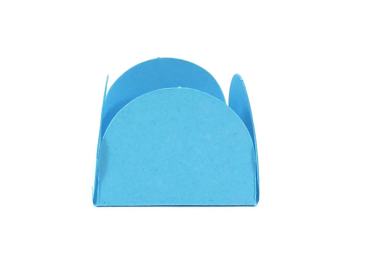 Forminha 4 Pétalas - Azul Céu