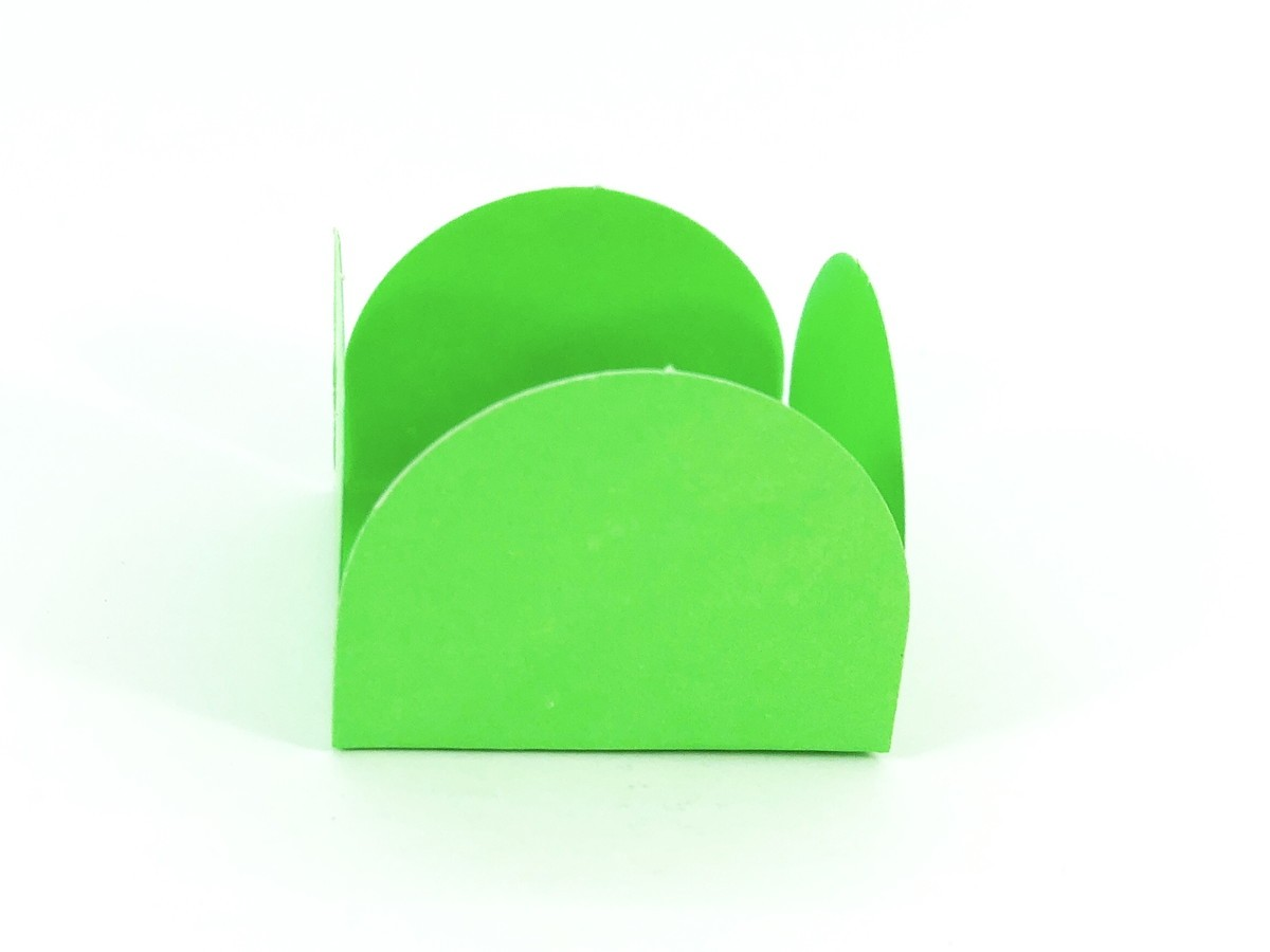 Forminha 4 Pétalas - Verde Limão