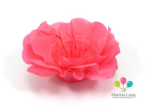 Forminha Flor 40un. - Cereja