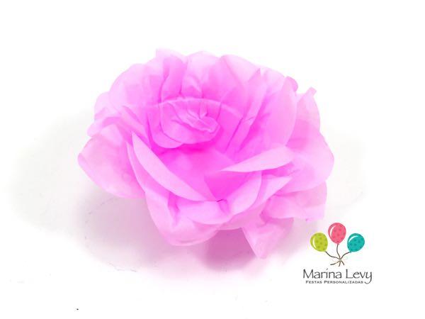 Forminha Flor 40un. - Rosa Clara