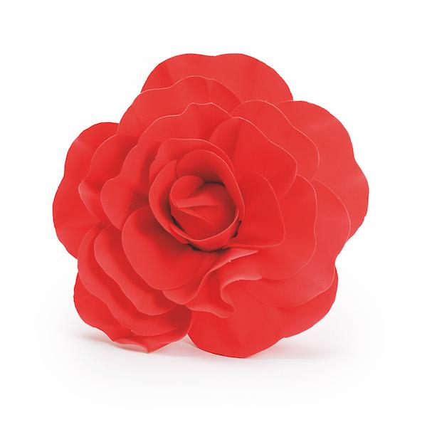 Rosa Decorativa Vermelha