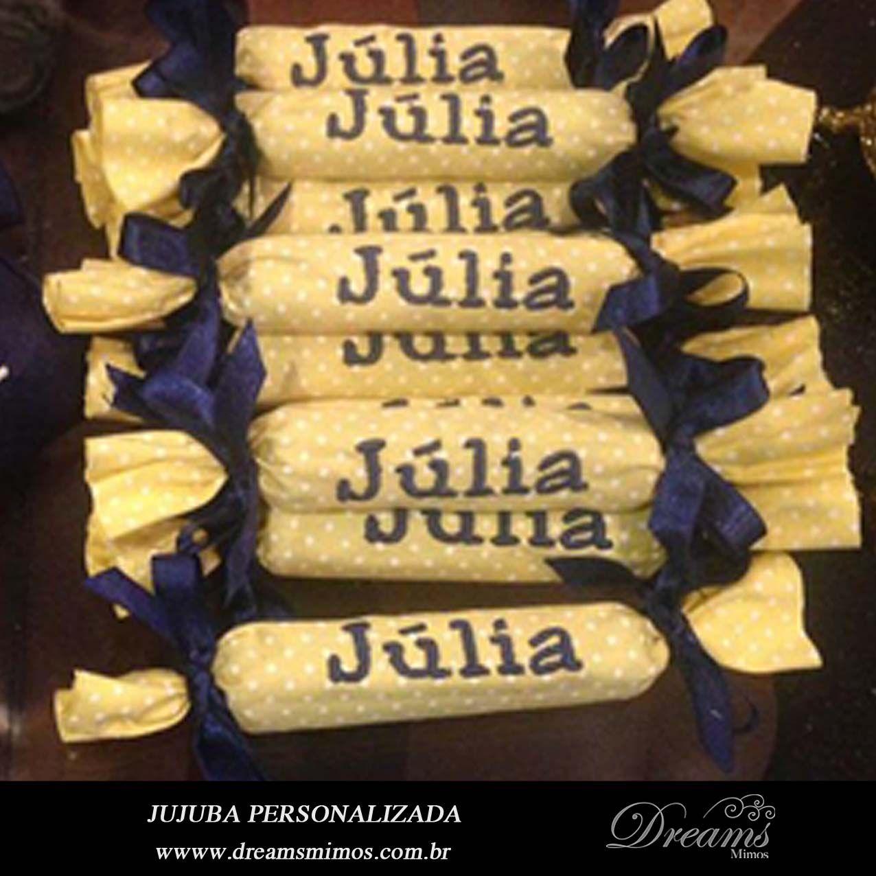 JUJUBA ou KITKAT BORDADO