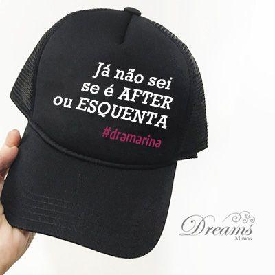 BONÉ LUXO BORDADO PERSONALIZADO