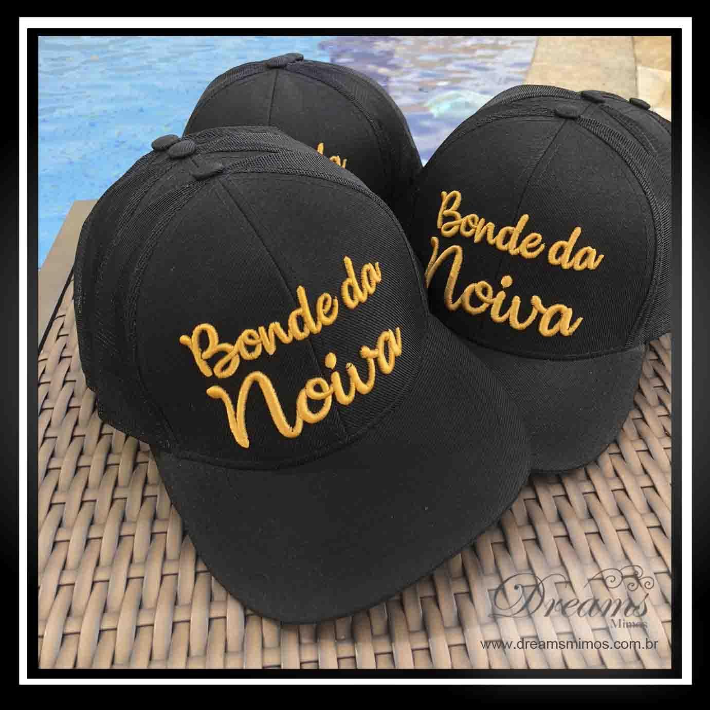 Boné Bordado Personalizado