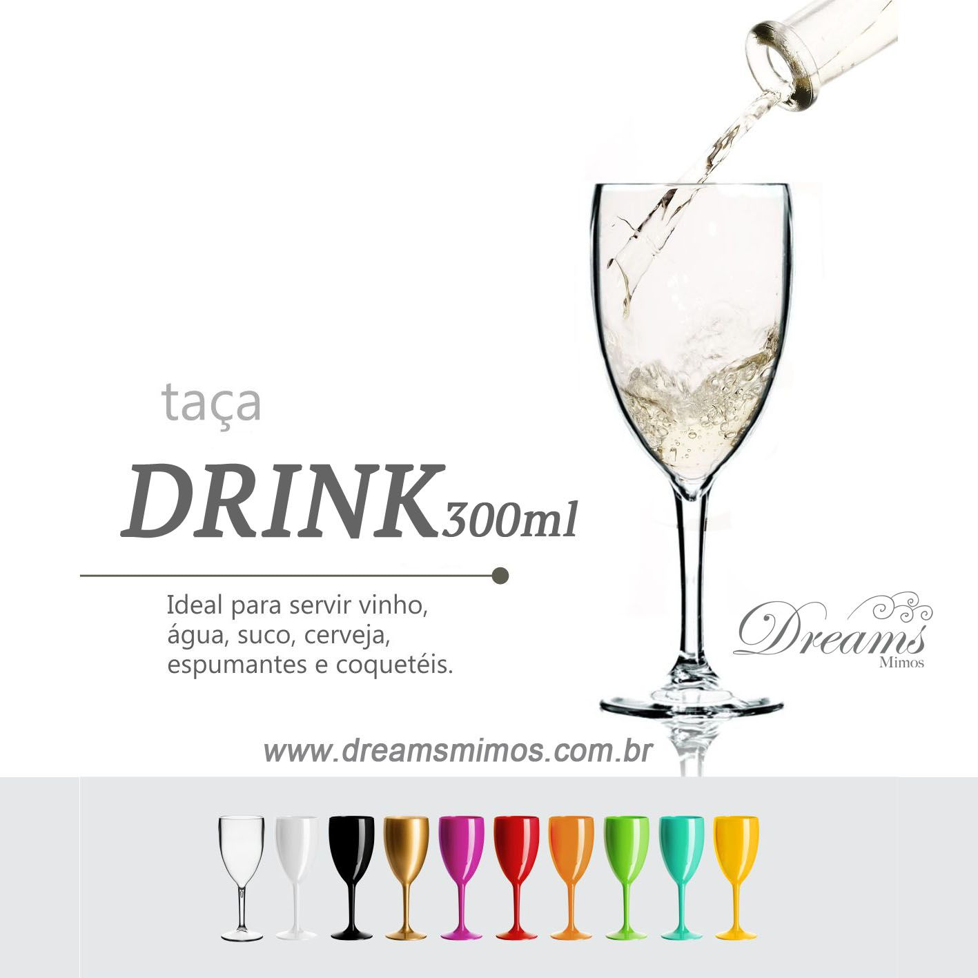 TAÇA DRINK 300ML