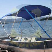 Capota Toldo Barco Big Fish 5014 Poliéster 3 Arcos Tubo 7/8