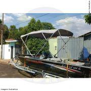 Capota Toldo Lancha Big Fish 5014 Sport Poliéster 4 Arcos Tubo 7/8