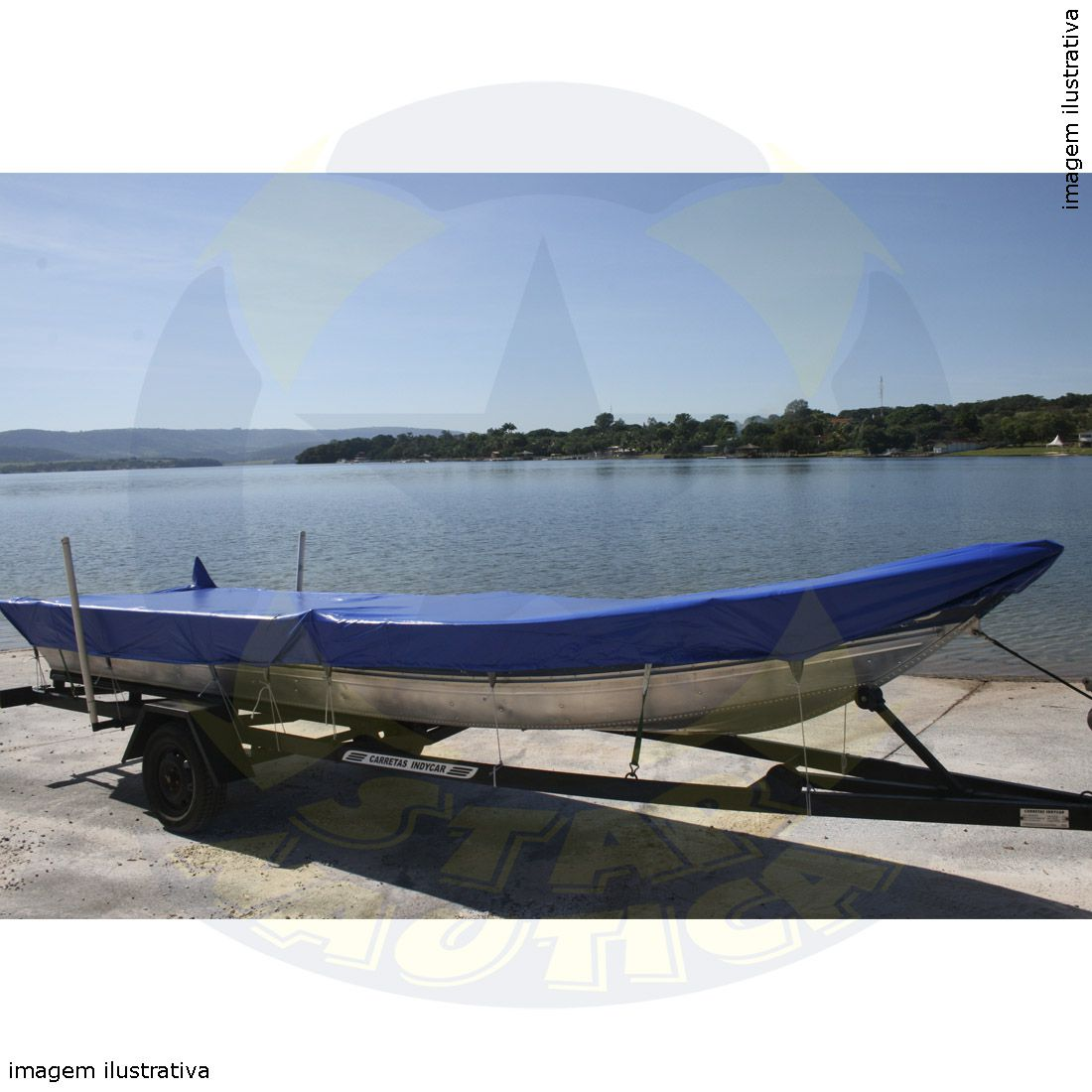 Capa Lona de Cobertura Barco Aruak 600 Lona Poliéster