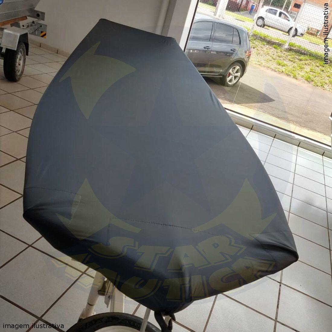 Capa Lona de Cobertura Barco Calaça Flash Bass 500 Lona Poliéster