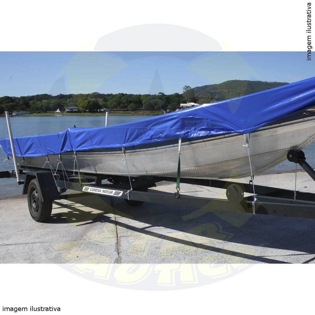 Capa Lona de Cobertura Barco Karib 600 Lona Vinílica