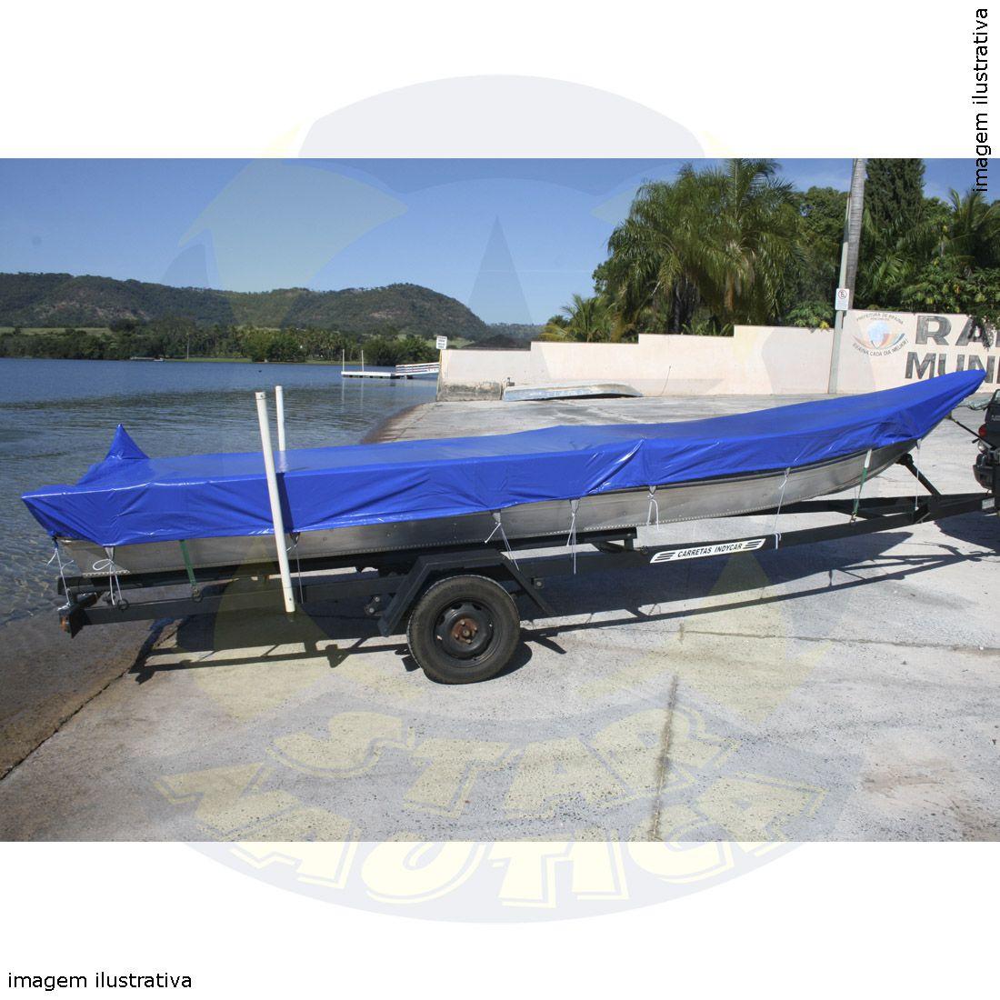 Capa Lona de Cobertura Barco Marfim 600 Lona Poliéster