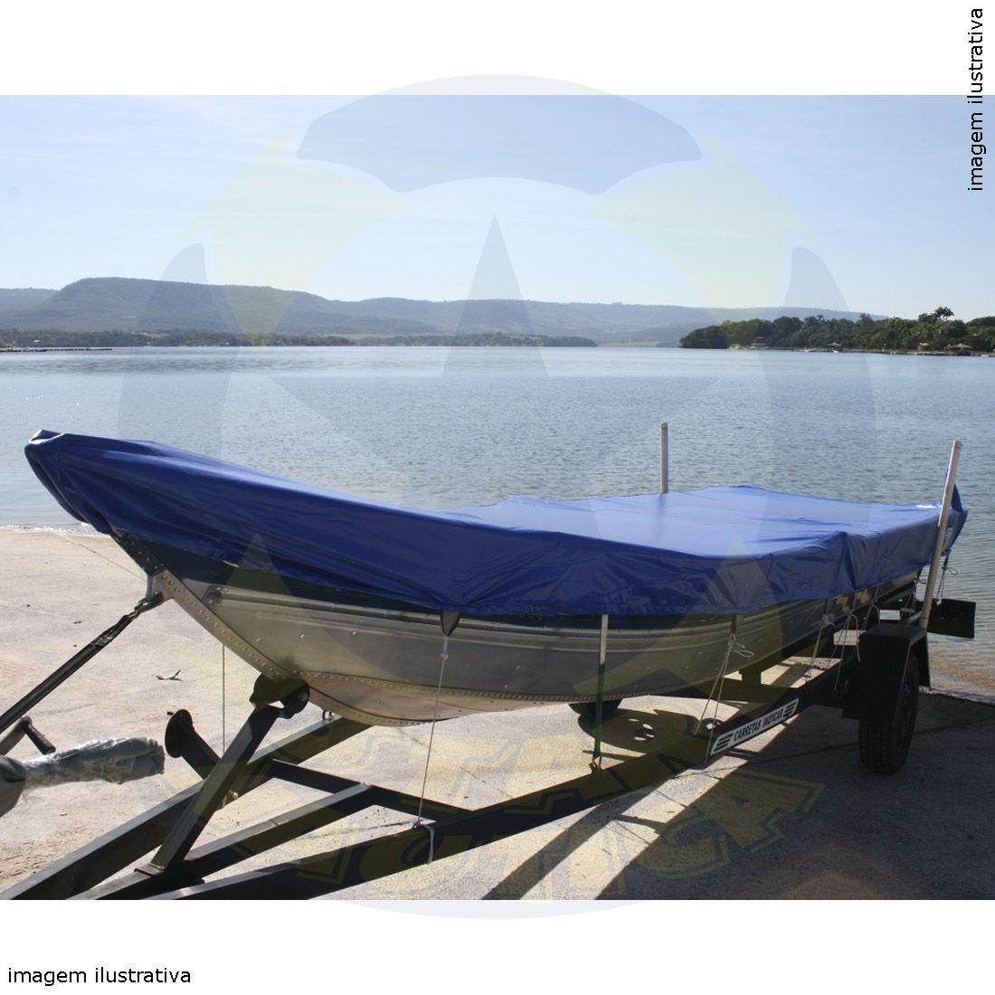 Capa Lona de Cobertura Barco Tupi 600 Lona Vinílica