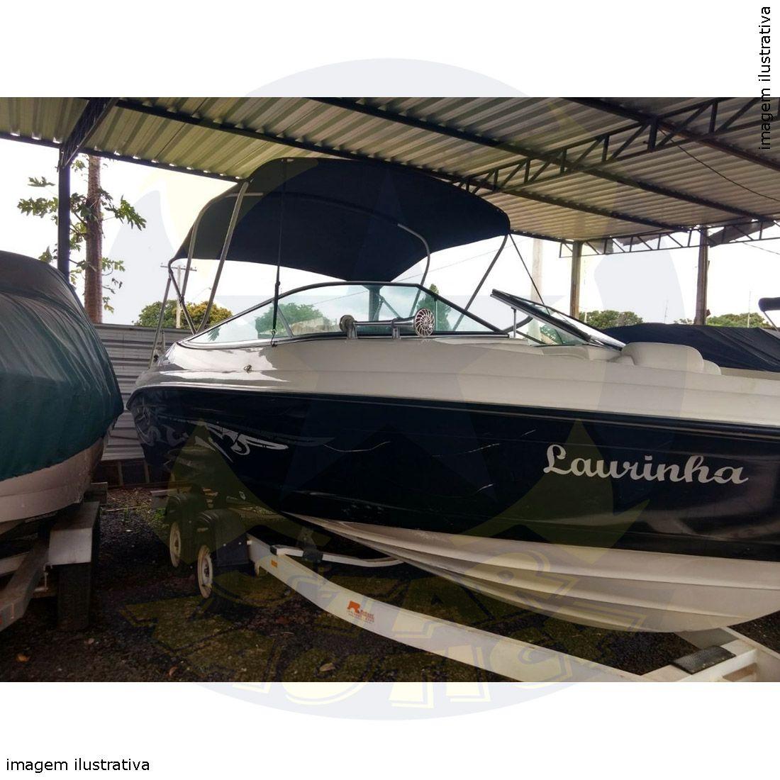 Capota Toldo Lancha FS 210 Poliéster 3 Arcos Tubo 1 1/4
