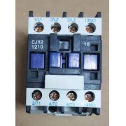 CONTATOR AUXILIAR CJX2-1210 (12 AMPERES) 380V FAIXA AJUSTE 20A