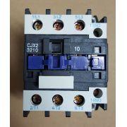 CONTATOR AUXILIAR CJX2-3210 (32 AMPERES) 380V FAIXA AJUSTE 50A
