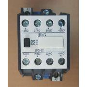 CONTATOR AUXILIAR JZC1-22 (10 AMPERES ) 220V FAIXA AJUSTE 10A