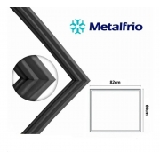 Gaxeta Borracha Freezer Horizontal Metalfrio Da550 Unitário